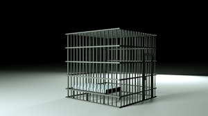 3D prison cell nf model