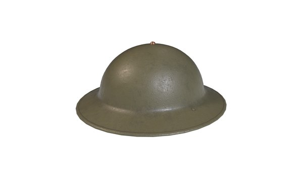 american army helmet m1917a1 3D