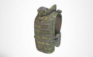 3D ratnik 6b43 vest