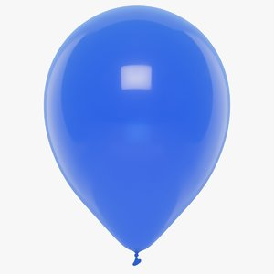 rubber balloon 3D model