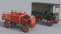 1916 truck 3D model