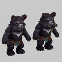 monster - bear 3D
