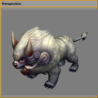 monster - little luwu 3D model