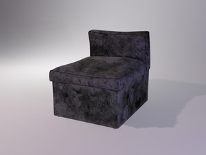 weathered chair 3D model