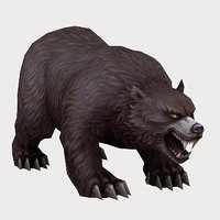 3D monster - bear 01