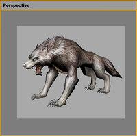 monster - wild wolf 3D