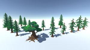 3D voxel tree