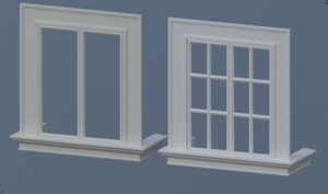 obj window interior exterior