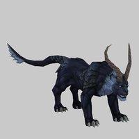 3D mount - beast 01 model