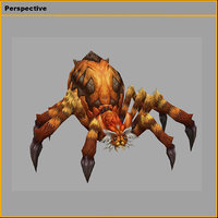 3D monster - spider 02