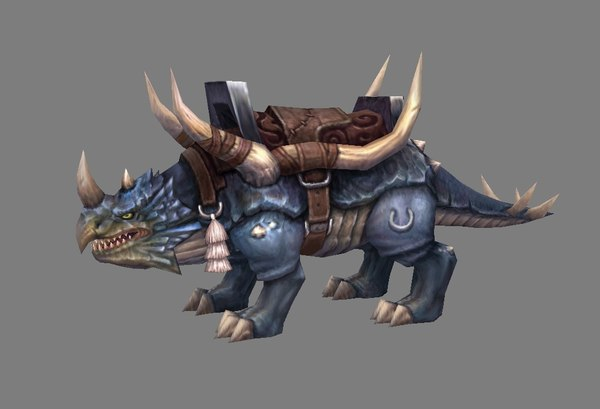mount - rhinoceros 3D model
