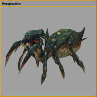 monster - spider model