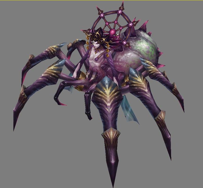 monster - spider 3D model