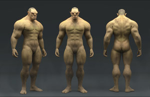 orc reference 3D