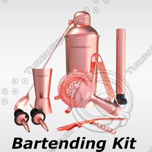 bartending kit model