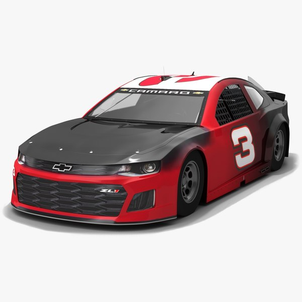 3D nascar race car richard