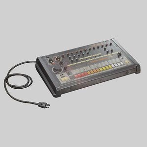 3D drum roland tr-808