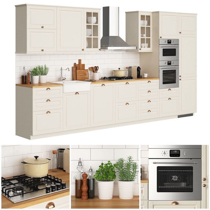 3d ikea metod bodbyn turbosquid 1358245 for Ikea cucina 3d