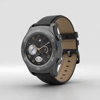 3D model huawei 2 watch