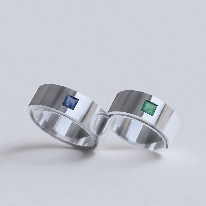 wedding rings model