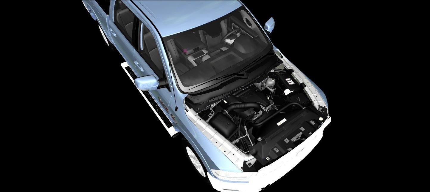 2012 Dodge Ram 2500 Development Model (GTA-V)