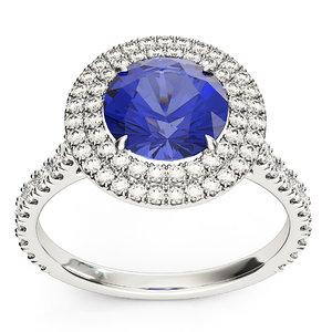 platinum tiffany ring model