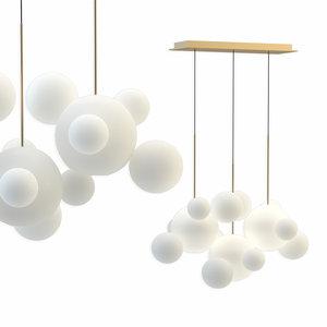 giopato coombes chandelier btc14l-pe1-brbc 3D
