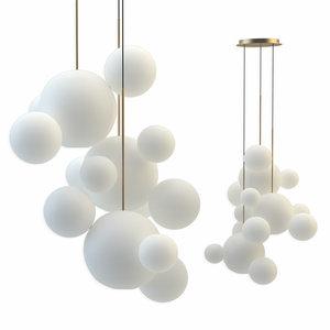 giopato coombes chandelier btc14c-pe1-bzbc 3D model