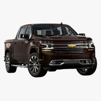 3D 2019 chevrolet silverado country