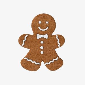 gingerbread cookie ginger model