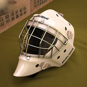 goal mask 3D model