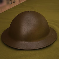 brodie helmet 3D model