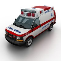 GMC Savana Ambulance
