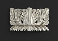 carved cnc stl 3D
