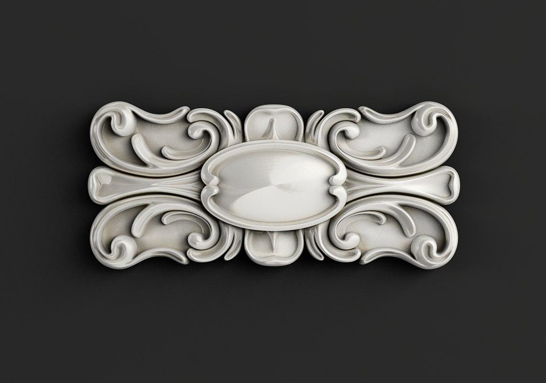 3D model carved cnc stl
