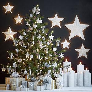 holiday tree 3D model