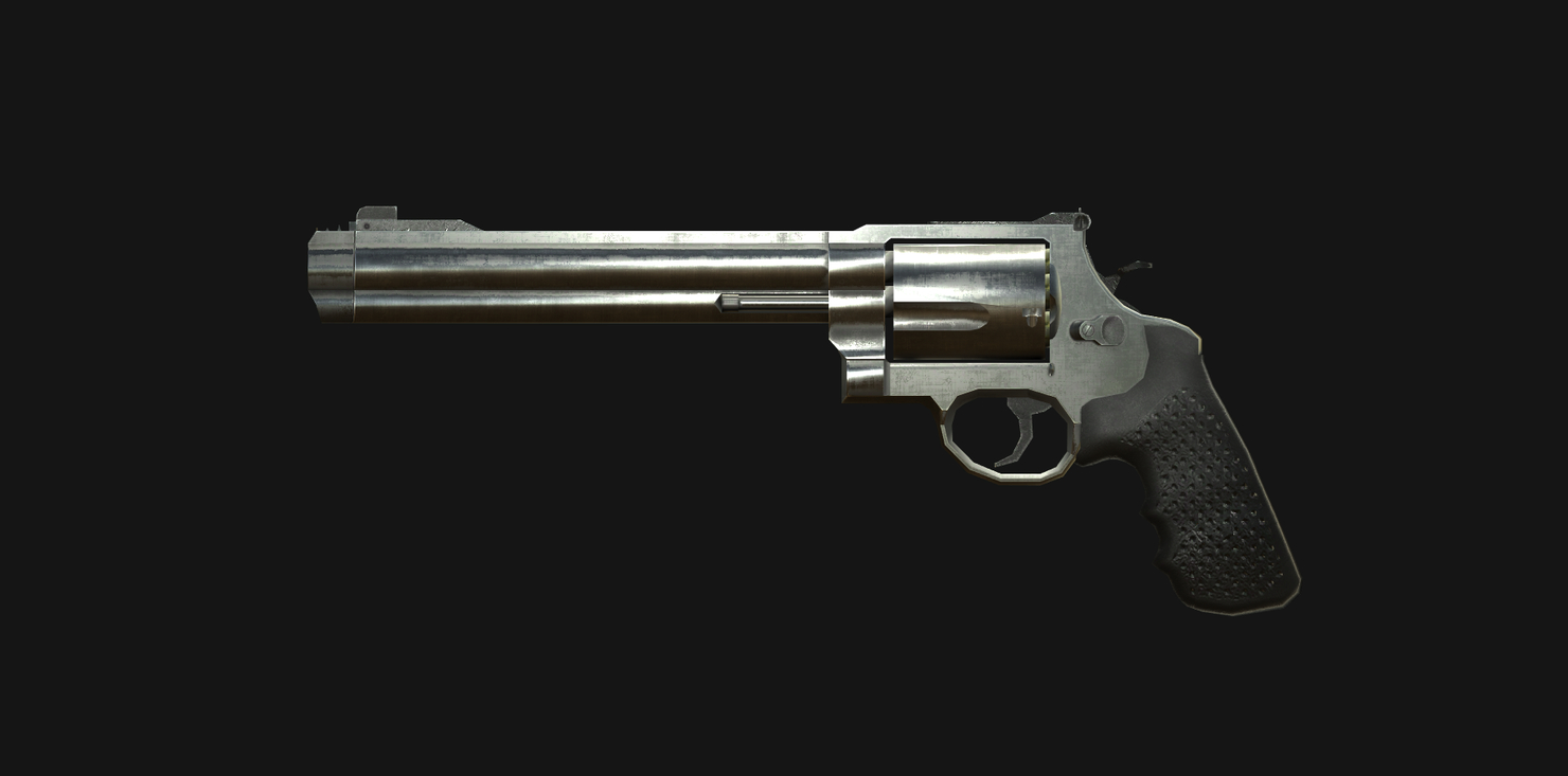 realistic weapons pbr 3D model