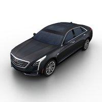 2017 cadillac ct6 sedan 3d 3ds