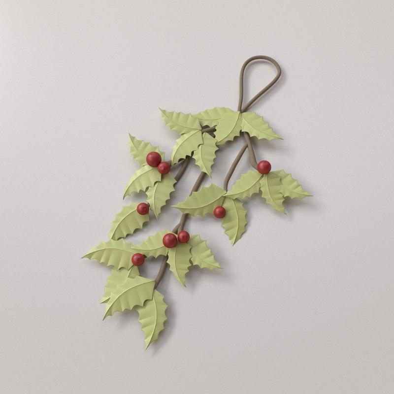 3D mistletoe v2