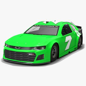 nascar chevrolet camaro race car 3D model