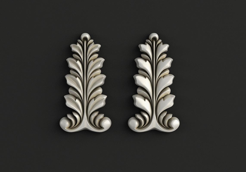 3D carved cnc stl