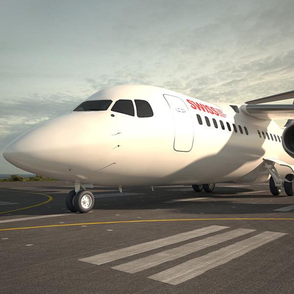 3D british aerospace 146