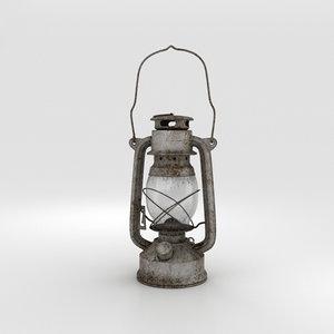 oil lamp 3D