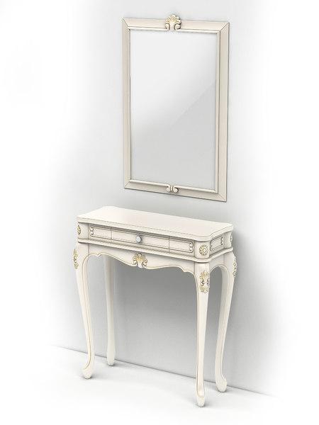 table frame 3D model