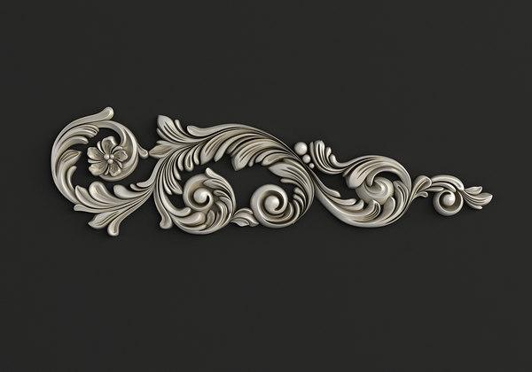 carved cnc 3D