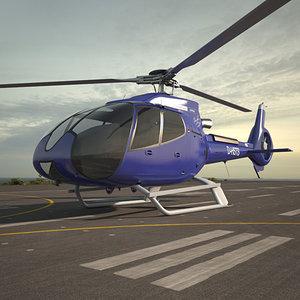 eurocopter ec130 ec 3D model