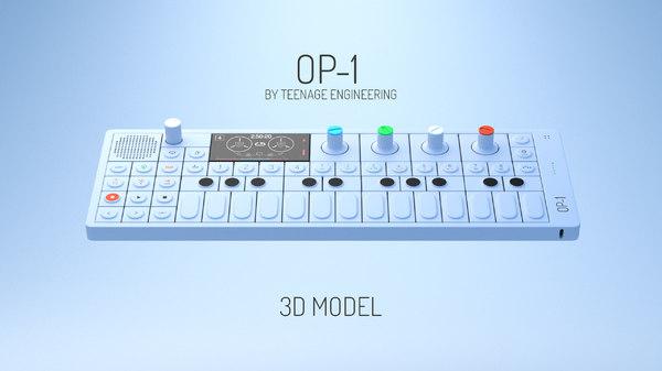 modeled 3D model