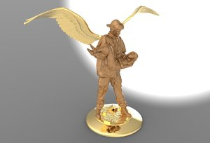 firefighter fighter angel 3D