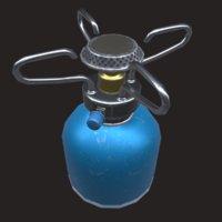 tourist gas burner 3D model