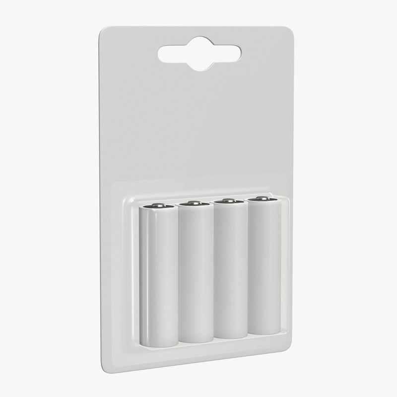 battery package pack 3D model